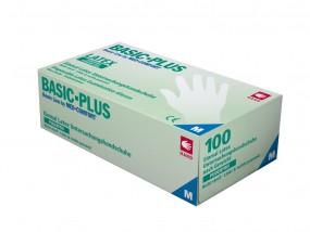 Basic-Plus Latex-Untersuchungshandschuhe puderfrei