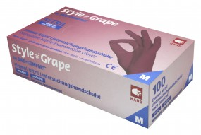 STYLE GRAPE Nitril-Untersuchungshandschuhe puderfrei