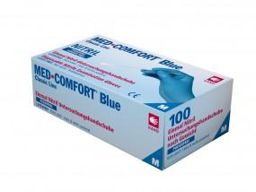 BLUE COMFORT Nitril-Untersuchungshandschuhe puderfrei blau
