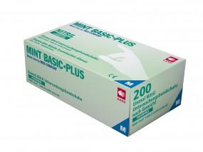 MINT BASIC PLUS Nitril-Handschuhe puderfrei mint