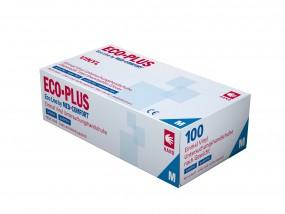 ECO PLUS Vinyl-Untersuchungshandschuhe puderfrei weiß