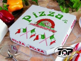 Pizzabox 24 x 24 x 3 cm Treviso