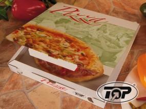 Pizzabox 29 x 29 x 3 cm Vegetale Cubo