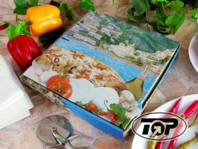 Pizzabox 22 x 22 x 4,2 cm Positano