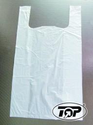 ND-Shoppertasche 28 x 14 x 48 cm extrastark weiß 8,2 my