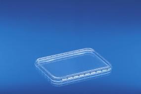 Verpackungsbecher - Deckel 390 D glasklar aus PET