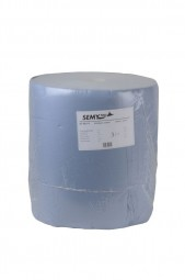 Industriepapierrolle hellblau 3 lagig Recycling Papier