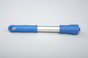 Alu-Stiel, Standard, 1300 x 25 mm - blau