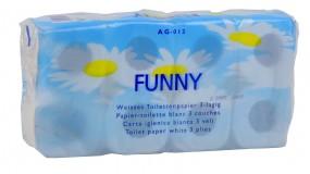 Toilettenpapier, 3-lagig, 150 Blatt hochweiß