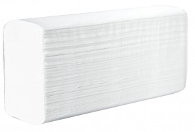 Papierhandtücher 2- lagig hochweiß