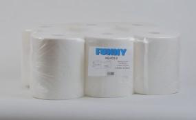 Handtuchpapier-Rolle, 21cm, 2-lagig