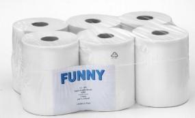 Papierhandtuch-Rolle 2 lagig hochweß