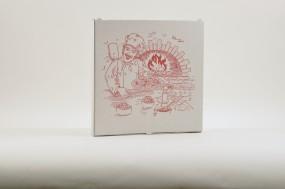 Pizzakarton 26 x 26 x 3 cm