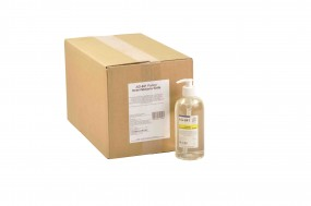 Flüssige Desinfektionsseife in 500 ml Dosierflaschen