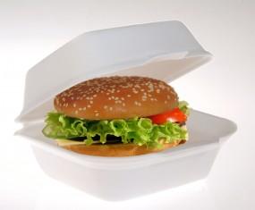 Hamburger Box Groß AP 6 creme