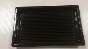 Sushi Tray groß schwarz 255 x 185 x 20 mm