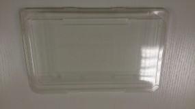 Deckel klar für mittel Sushi 215 x 135 mm