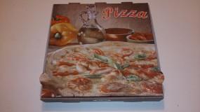Pizzabox 24 x 24 x 4,2 cm NYC Piccante