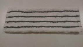 Wischmop Mopptex weiß-grau 50 cm Microfasermop mit Schrubbborsten und Wasseraufnahme