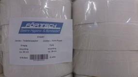 Jumbo-Toilettenpapier hellgrau 2 lagig 290 Meter