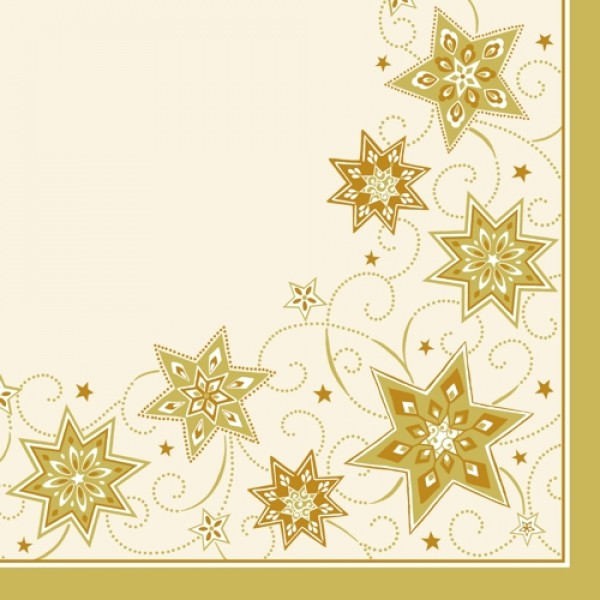 servietten stoff hnlich airlaid 1 4 falz 40 cm x 40 cm creme just stars. Black Bedroom Furniture Sets. Home Design Ideas