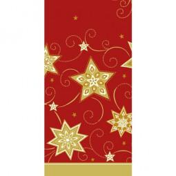 Tischdecke, stoffähnlich, Airlaid 120 cm x 180 cm rot